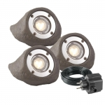 Garden Lights Komplett-Set LAPIS, Power LED