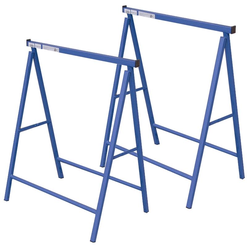 Pro Bau Tec 2x pro bau tec metall klappbock blau 200 kg 2 stück