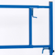 2x pro-bau-tec Metall-HB Bock BLAU 175 KG (2 STÜCK)