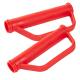 2 STÜCK Sicherheitsgriffe mit Handschutzbügel, rot, für Sackkarren
