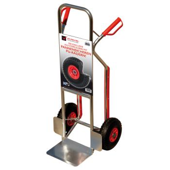 pro-bau-tec Aluminium Sackkarre 150 KG mit Treppenrutsche...