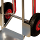 pro-bau-tec Aluminium Sackkarre 150 KG mit Treppenrutsche + PU-Rädern=PANNENFREI!