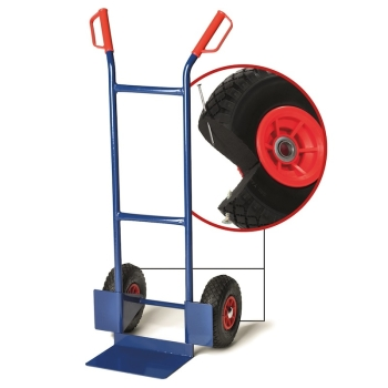 pro-bau-tec Sackkarre Junior PU 200 KG mit PU-Reifen