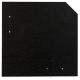 2.180 Stk. Wand- und Fassadenplatte 20 x 20 cm, dunkelgrau, glatt  auf 1 Europalette INKL. verschiedener PVC Profile in schwarz