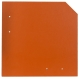 1.420 Stk. Wand- und Fassadenplatte 20 x 20 cm, klassikrot, glatt auf 1 Europalette INKL. verschiedener PVC Profile in rot