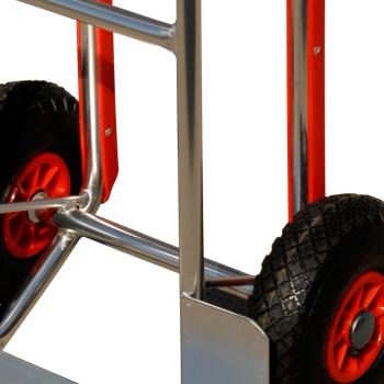 pro-bau-tec Aluminium Sackkarre mit Treppenrutsche 150 KG